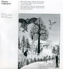 Adam i Eva, slika iz kataloga 10. bijenala naivne umetnosti