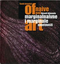 Katalog 10.bijenala naivne umetnosti 2001.godine u Jagodini