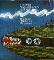 Katalog 11. bijenala naivne umetnosti u Jagodini 2003.godine