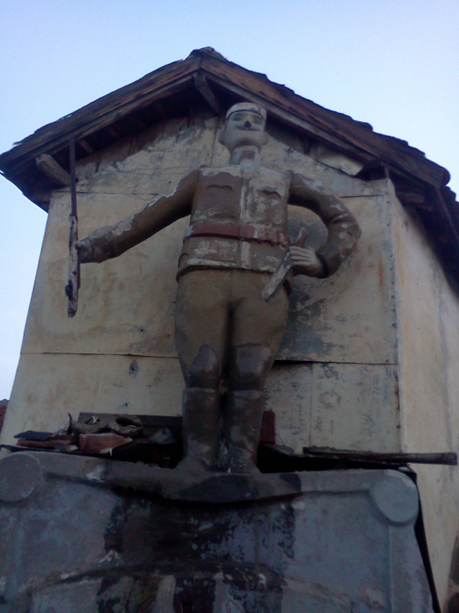 Spomenik krajputaš u Jagodini