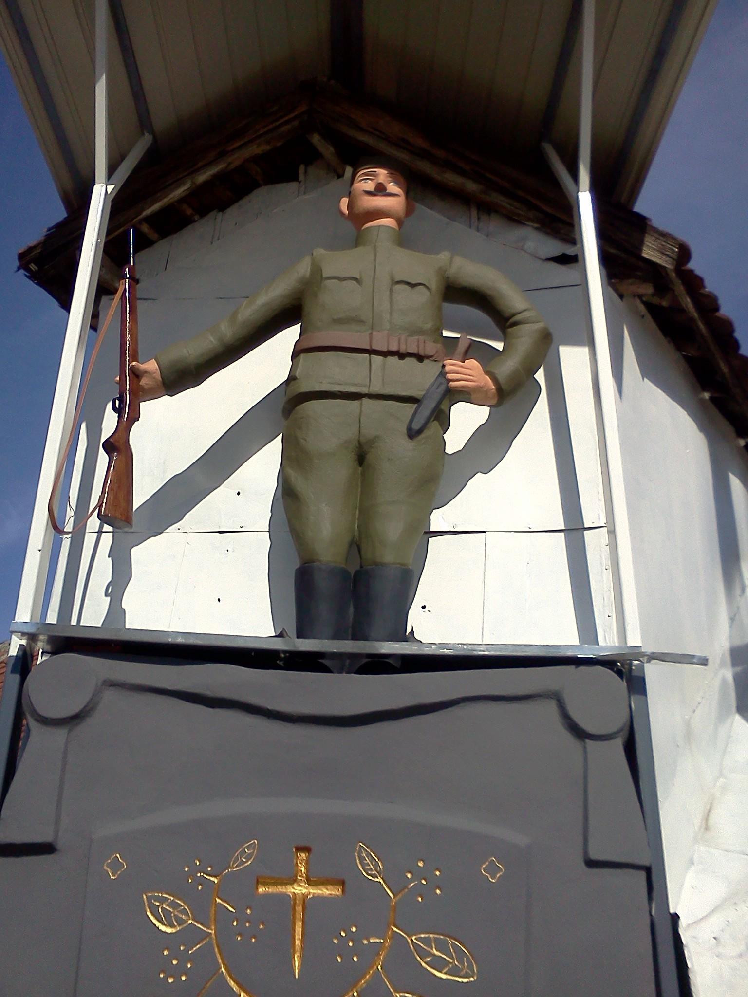 Finaliziranje radova na reparaciji spomenika krajputaša u Jagodini